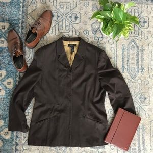 The Limited Mens Brown Blazer XL